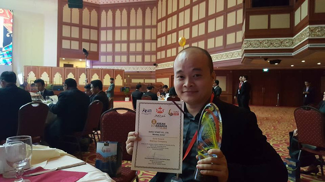 Vietnamese IT product wins gold at ASEAN ICT Awards