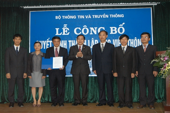 Annoucement of the establishment of the Viet Nam Telecommunications Authority