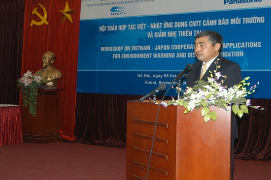 Viet Nam- Japan cooperation in ICT application for environment warning and disaster mitigation