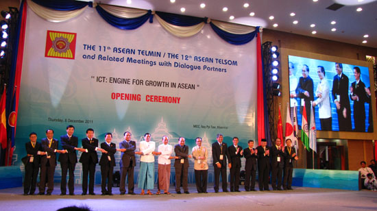 Deputy Minister Nguyen Thanh Hung attends TELMIN 11 in Myanmar