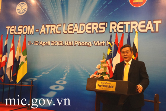 TELSOM-ATRC Leaders Retreat takes place in Hai Phong