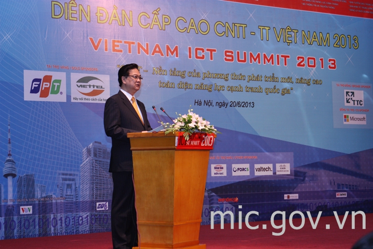 Vietnam ICT Summit 2013 opens in Hanoi