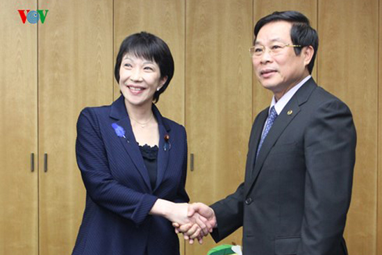 Vietnam - Japan strengthen the cooperation in information and communication