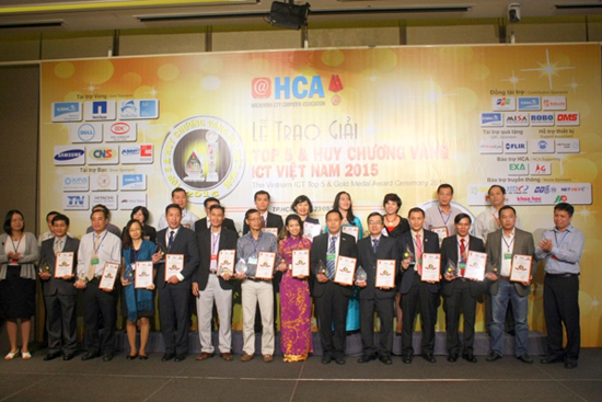 Top 5 and Gold Medal ICT Vietnam 2015