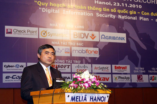 "Viet Nam information security Day 2010: ""Digital Information Security National Plan - A Road ahead"""