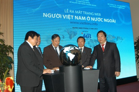 Website for Overseas Vietnamese officially launched