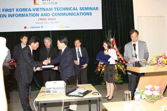 The first Viet Nam- Korea technical seminar on information and communications