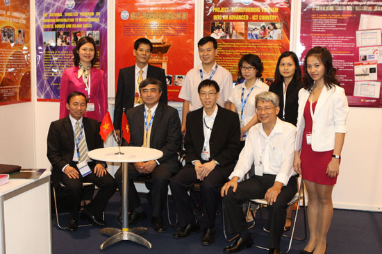 MIC attends international ICT exhibition and conference in Singapore