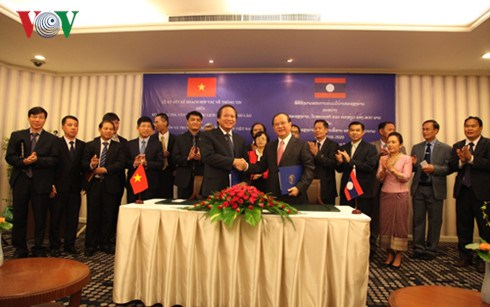MIC signs an agreement with the Ministry of Culture, Information and Tourism of Laos