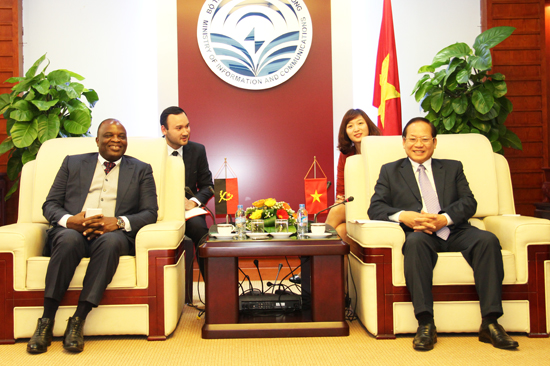 Vietnam - Angola to strengthen cooperation in telecommunications and IT