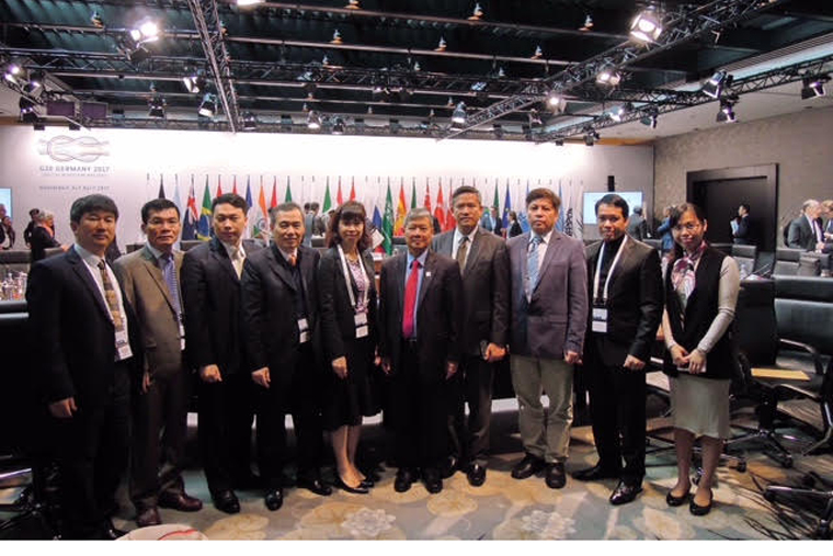 Delegation of the Ministry of Information and Communications to attend the G20 Ministerial Conference in Germany, visit and work in Finland