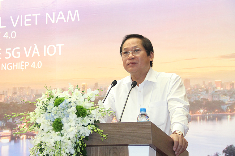 Workshop and demonstration of 5G for the first time in Vietnam
