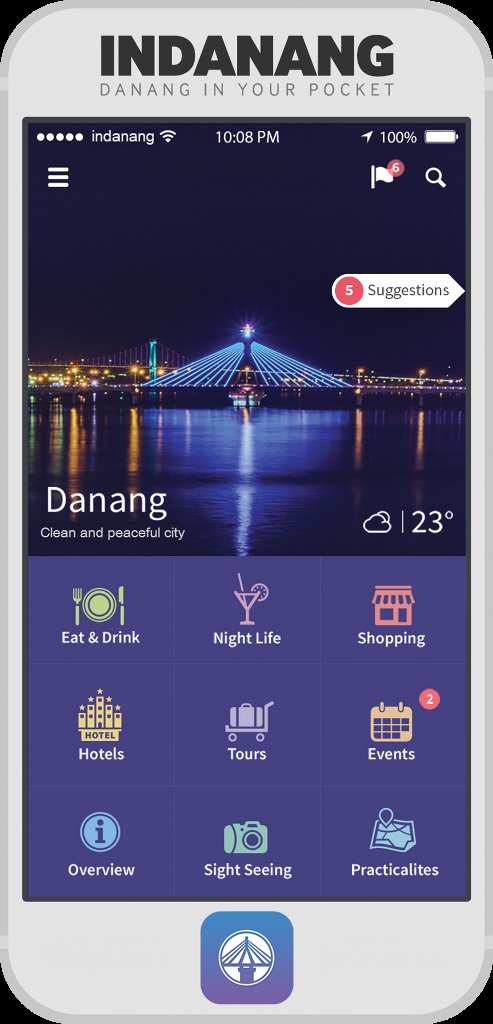 Đà Nẵng IT whiz makes app for travellers