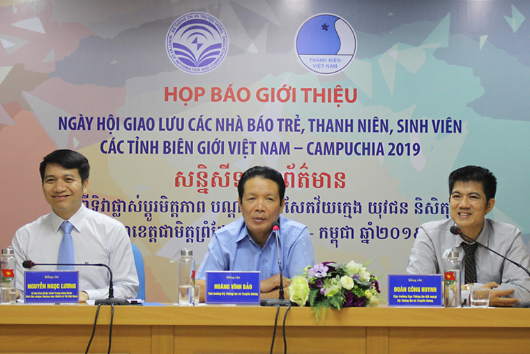 Festival Day for Young Journalists, Youth and Students of Vietnam - Cambodia Border Provinces in 2019